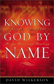 Cover of: Knowing God by Name