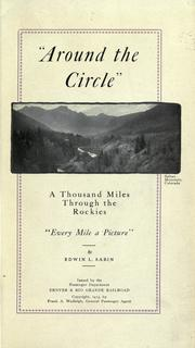 "Cover of: ""Around the circle"""