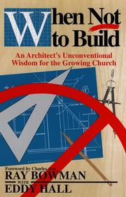 Cover of: When not to build