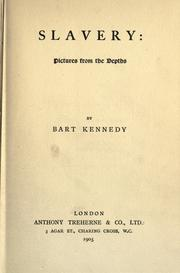 Slavery by Bart Kennedy