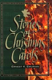 Cover of: Stories of Christmas Carols | Ernest K. Emurian