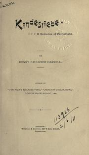 Cover of: Kindesliebe