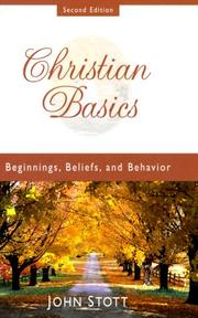 Cover of: Christian basics