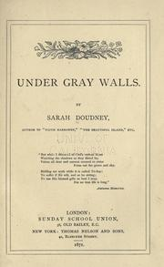Cover of: Under gray walls