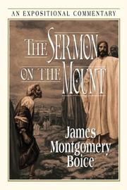 Cover of: The Sermon on the Mount | James Montgomery Boice