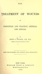 Cover of: The treatment of wounds