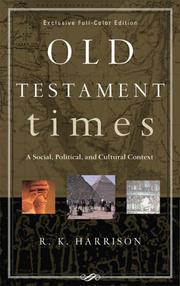 Old Testament Times by R. K. Harrison