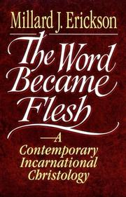 Cover of: The Word Became Flesh