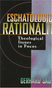 Cover of: Eschatological rationality