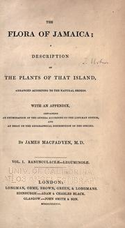 Cover of: The flora of Jamaica