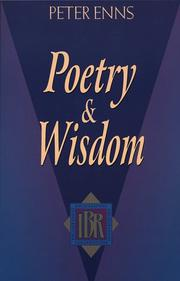 Cover of: Poetry and wisdom