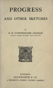 Cover of: Progress and other sketches