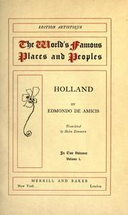 Cover of: Holland