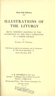 Cover of: Illustrations of the liturgy