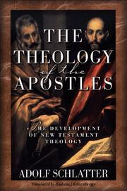Cover of: The Theology of the Apostles