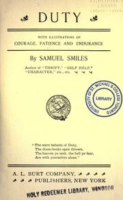 Duty by Samuel Smiles