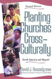 Cover of: Planting Churches Cross-Culturally, | David J. Hesselgrave