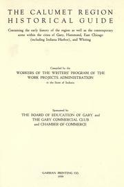 The Calumet region historical guide