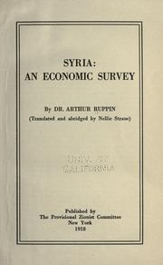 Cover of: Syria