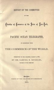 Cover of: The relation of the government to the telegraph, or, A review of the two propositions now pending before Congress for changing the telegraphic service of the country