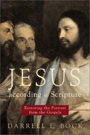 Cover of: Jesus according to Scripture