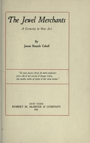 Cover of: The jewel merchants | James Branch Cabell