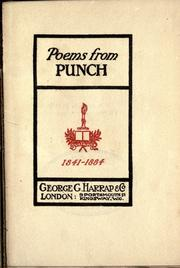 Cover of: Poems from Punch by