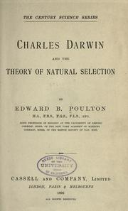 Charles Darwin and the theory of natural selection (1896 ...