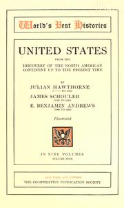 Cover of: United States, from the discovery of the North American Continent to the present time