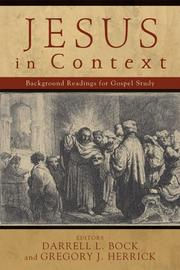 Cover of: Jesus in context