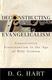 Cover of: Deconstructing Evangelicalism