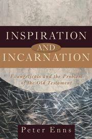 Cover of: Inspiration and incarnation