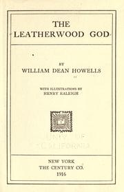 Cover of: The Leatherwood God
