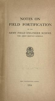Cover of: Notes on field fortifications