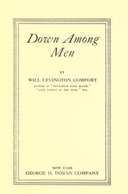 Cover of: Down among men