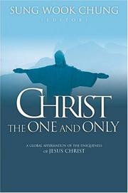 Cover of: Christ the one and only |