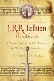 Cover of: The J.R.R. Tolkien handbook