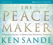 Cover of: Peacemaker, The,