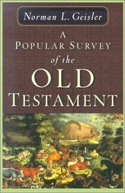 Cover of: A Popular Survey of the Old Testament