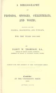 Cover of: A bibliography of Protozoa, sponges, Coelenterata, and worms