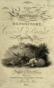 Cover of: The sportsman's repository by John Scott