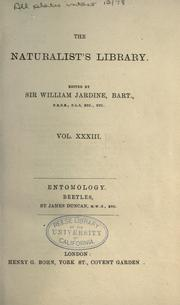 Cover of: Natural history of beetles