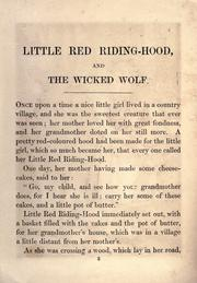 Cover of: Red Riding Hood by
