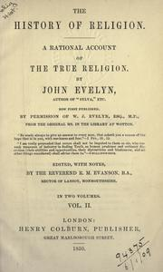 Cover of: The history of religion