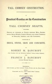 Cover of: Tall chimney construction