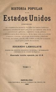 Cover of: Historia popular de los Estados Unidos