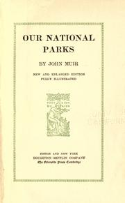 Cover of: Our national parks