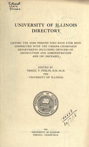 Cover of: Directory