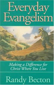 Cover of: Everyday evangelism