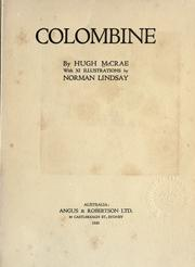 Cover of: Colombine, with 11 illus. by Norman Lindsay